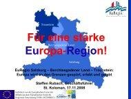 EuRegio-Arbeit - St. Koloman