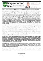 Bürgermeisterbrief (429 KB) - St. Koloman