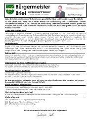 Bürgermeisterbrief (233 KB) - St. Koloman