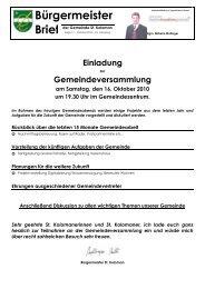 Bürgermeisterbrief (147 KB) - St. Koloman