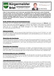 Bürgermeisterbrief (169 KB) - St. Koloman