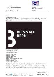 Biennale Bern
