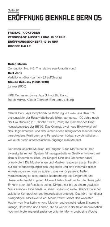 (4 $+$ - Biennale Bern