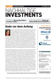 Ausgabe 7/2012 - Handelsblatt