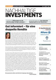 INVESTMENTS - CSR Research Quality Standard