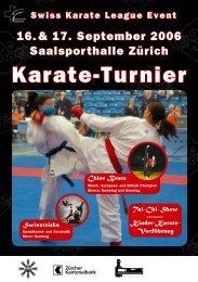 Karate-Turnier - Shukokai Karate Do Zürich