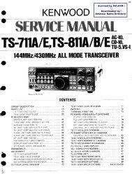 Kenwood TS-711-811
