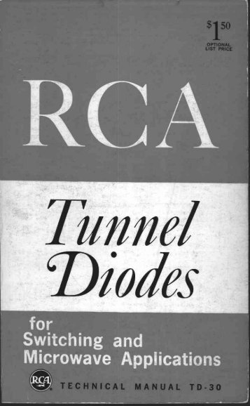 RCA Tunnel Diode Manual