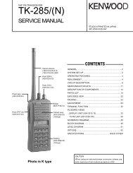 800MHz UHF Whip Antenna  For Kenwood Trunking Radio TK-480 T90-0636-25 A