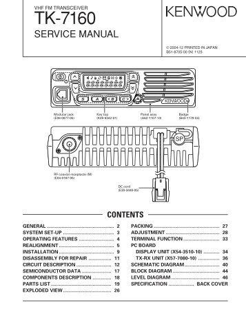 tk 690 series tk 790 series tk 890 series kenwood rh yumpu com Kenwood Tk 790 Manual Kenwood Tk 690