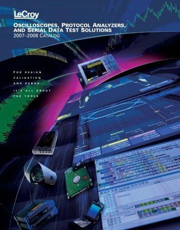 2007-2008 LeCroy Catalog