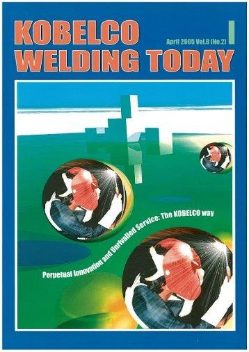Kobelco Welding Today Vol.8 No.2 2005