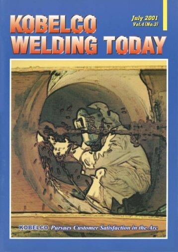 Kobelco Welding Today Vol.4 No.3 2001