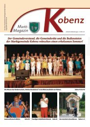 Magazin - Gemeinde Kobenz