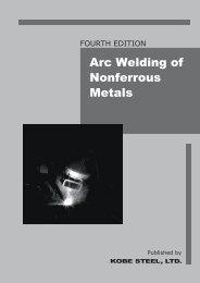 Arc Welding of Nonferrous Metals