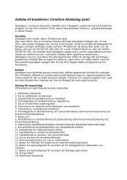 Kallelse årsstämma 2012 - Consilium
