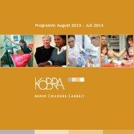 Programm: August 2013 – Juli 2014 - Kobra