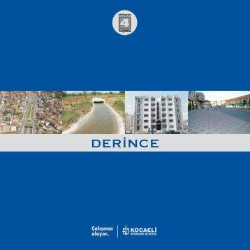 DERİNCE - Kocaeli Büyükşehir Belediyesi