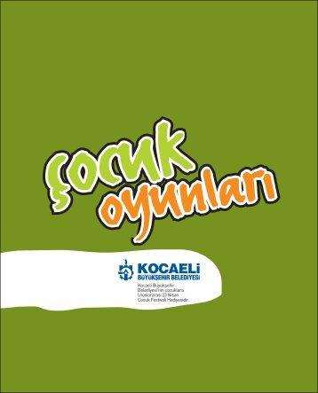 cocuk oyunlari NEW_PDF - Kocaeli Büyükşehir Belediyesi
