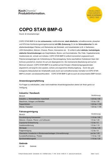 Schaumarm magazine for Koch chemie pol star