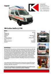 Exposé VW Crafter Delfis 2,5 TDI