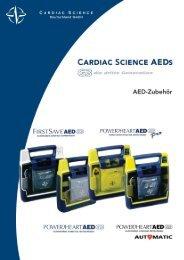 CARDIAC SCIENCE AEDS - Sanitätshaus Koczyba GmbH