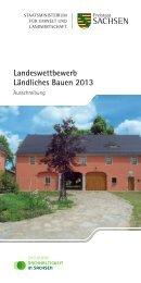 Landeswettbewerb Ländliches Bauen 2013