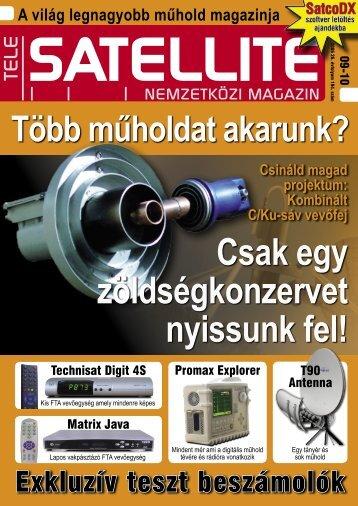 Szakértői vélemény - TELE-satellite International Magazine