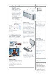 Lernen Sie den Mac mini kennen Lieferumfang