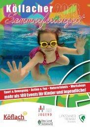 Broschüre - Köflach