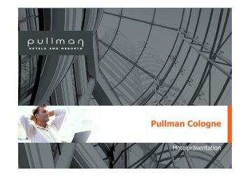 Pullman Cologne - Köln Locations