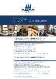 Tagungspauschalen (PDF) - Köln Locations