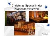 Weihnachten in der Kranhalle Walzwerk