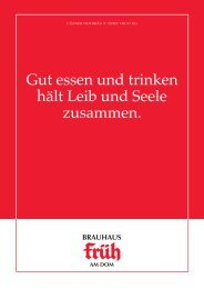 Brauhaus Speisenkarte (PDF) - Köln Locations