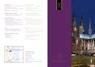 Infobroschüre (PDF) - Köln Locations