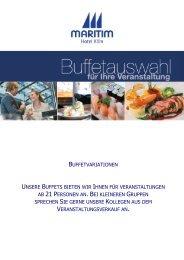 Buffetauswahl - La Galerie