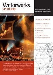Flyer Spotlight Veranstaltungstechnik - Grid CAD & Computer GmbH