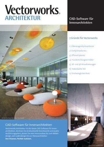 Flyer Innenarchitektur - ComputerWorks GmbH