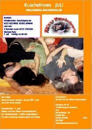 Kuschelnews Juli 2006 - Die Kölner Kuschelparty