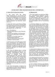 Satzung als PDF in der Fassung vom 11. September 2012 - Kölner ...