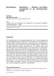 kanzlei - Kölner Anwaltverein