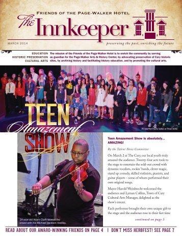 The Innkeeper-Spring 2014