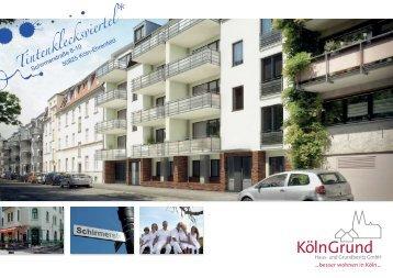Broschüre - KölnGrund Haus- und Grundbesitz GmbH