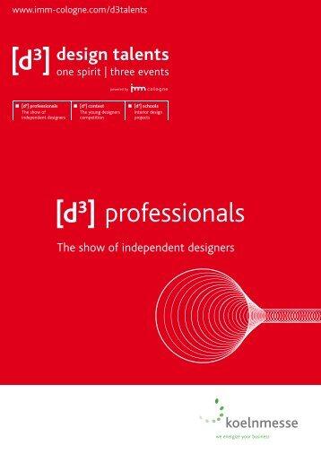 [d3] professionals