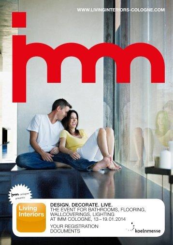 design. decorate. live. the event for bathrooms, flooring ...