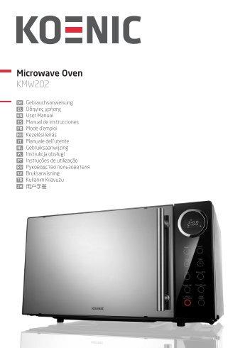Microwave Oven KMW202 - KOENIC