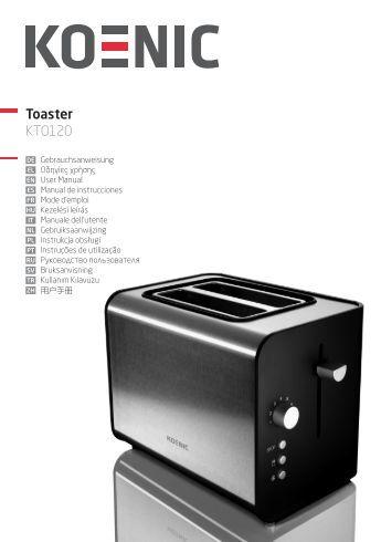 Toaster KTO120 - KOENIC