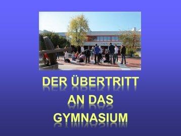 Präsentation Einführungsklasse - König-Karlmann-Gymnasium