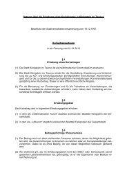 Kurbeitragssatzung (PDF) - Stadt Königstein im Taunus