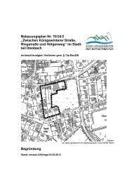 Bebauungsplan Nr. 70/24/2 - Stadt Königswinter